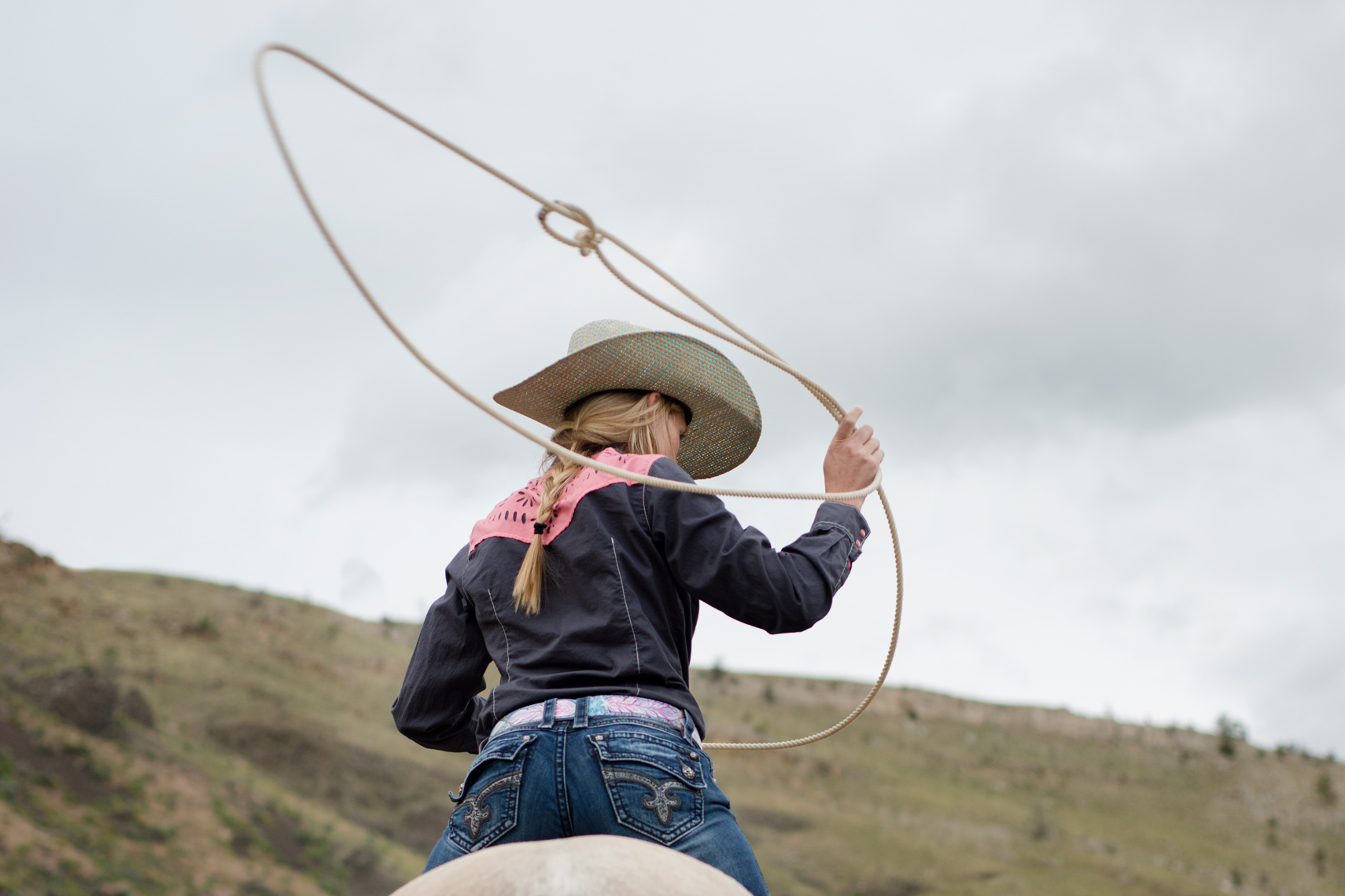 Breakaway Roping - Women of Rodeo