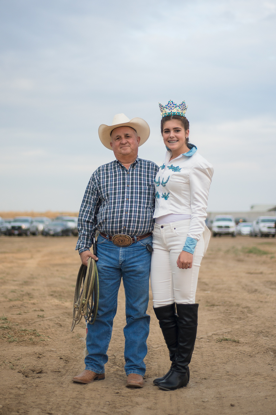 Central valley dairy farmer portrait