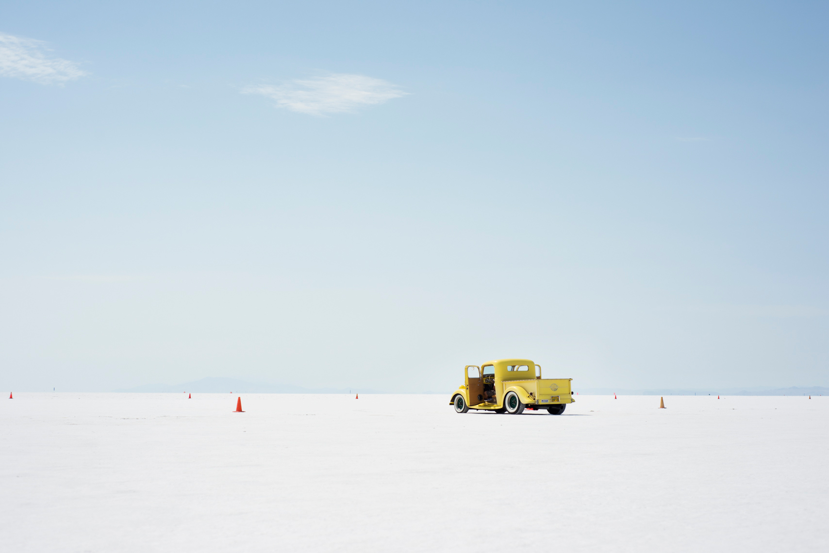 Classic cars at Bonneville