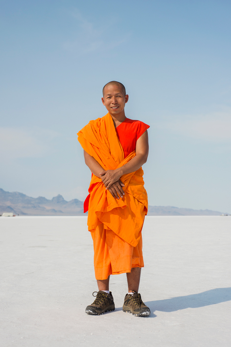 Buddhist monk in Bonneville