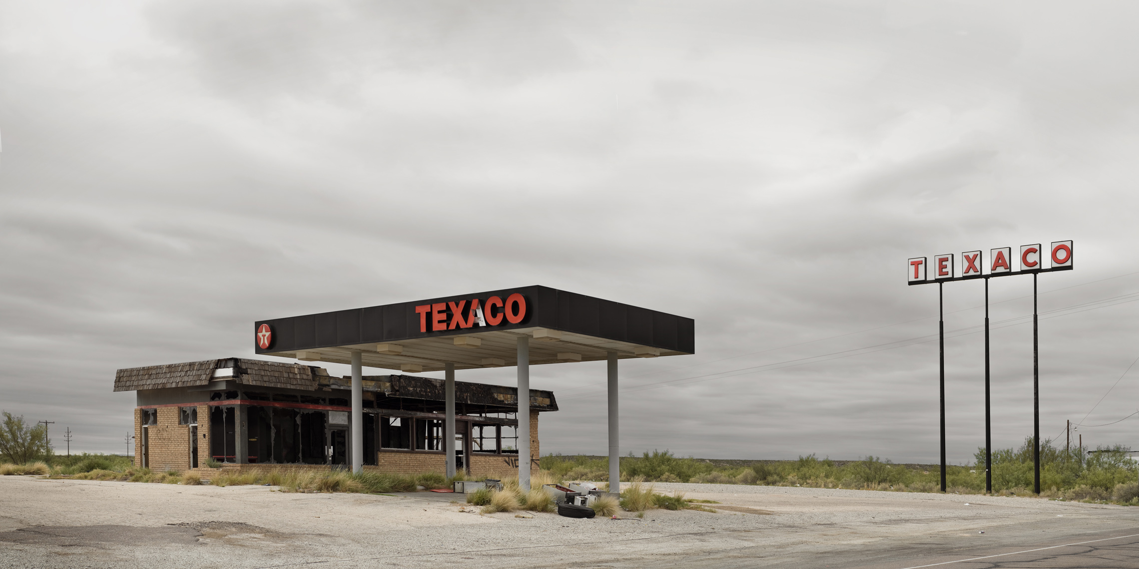 gas station 8